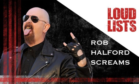 Check out these 10 Amazing High Screams from Judas Priest's Rob Halford.