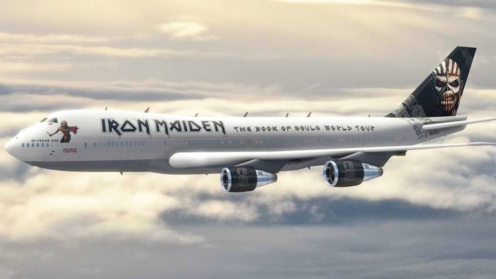 iron maiden 39 s ed force one to be immortalised in model form daily headb nger. Black Bedroom Furniture Sets. Home Design Ideas