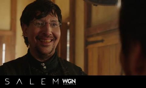 """Marilyn Manson To Appear in WGN's """"Salem"""" Season 3"""