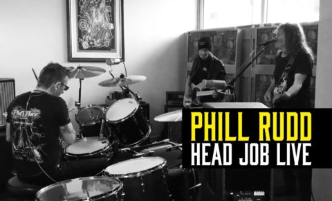 Former AC/DC Drummer Phil Rudd Films Solo Video