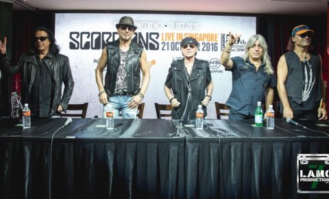 Scorpions Singapore Press Conference – October, 2016