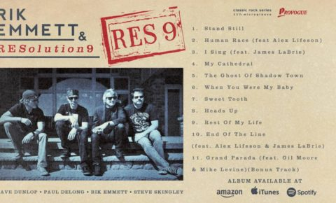 "Triumph's Rik Emmett Release New Album ""RES9"" Video Song Samples"