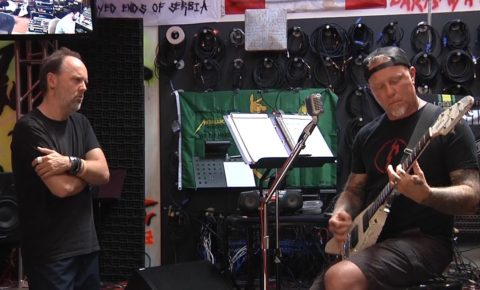"""Metallica: Riff Charge – The Making of """"Hardwired"""""""