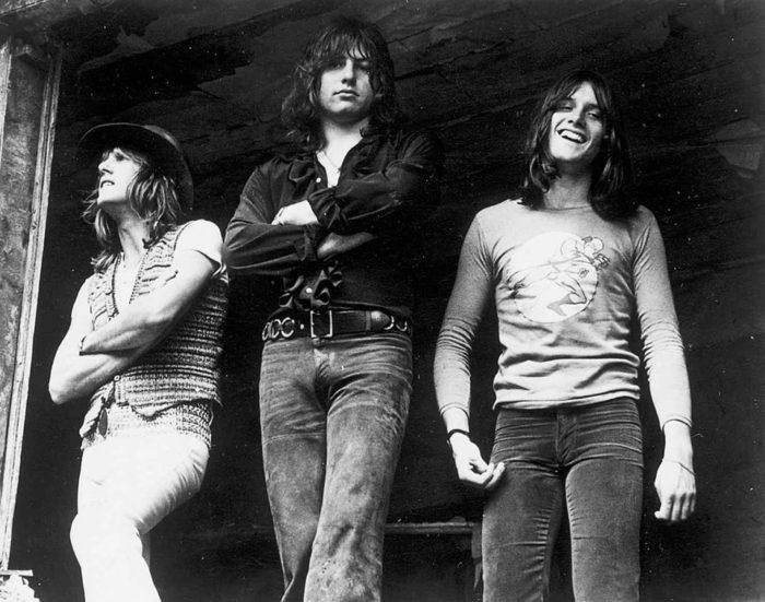 Emerson, Lake + Palmer, circa 1970s.