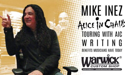 Interview with Mike Inez (Alice In Chains & Heart)