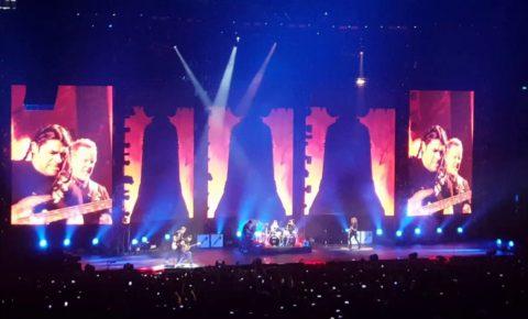 Metallica – Fan-Filmed Video from Singapore Show