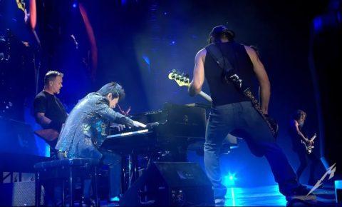 Metallica Release Video of Lang Lang Jam in China