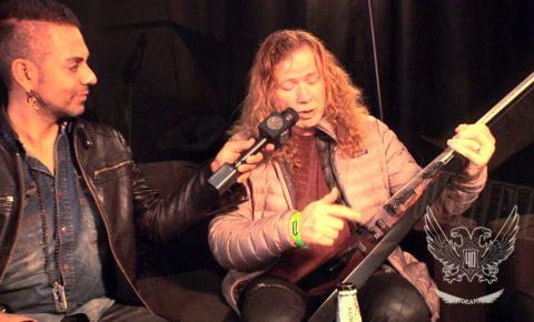 """NAMM 2017 Dean Guitars """"Dave Mustaine Interview"""""""