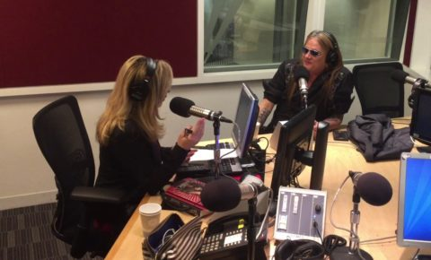 Sebastian Bach Reveals His Love of Singing Began as a Choir Boy