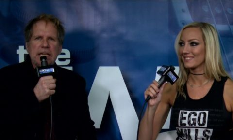 BackStory Events Live from NAMM Interview Alice Cooper Guitarist Nita Strauss