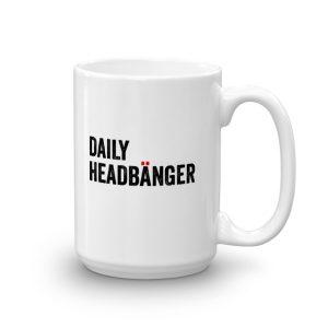 Daily Headbanger Logo Huge 15oz. Coffee Mug