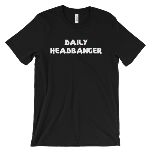Daily Headbanger Metalhead Logo Unisex Crew Neck T-Shirt