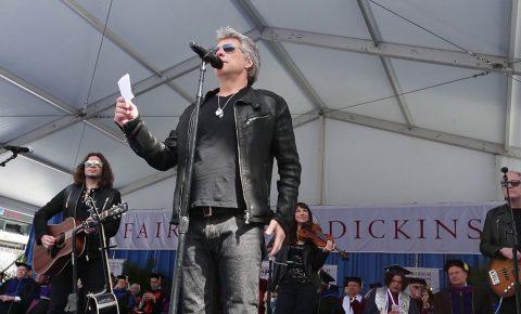 Bon Jovi Deliver Surprise Performance at Fairleigh Dickinson University Commencement