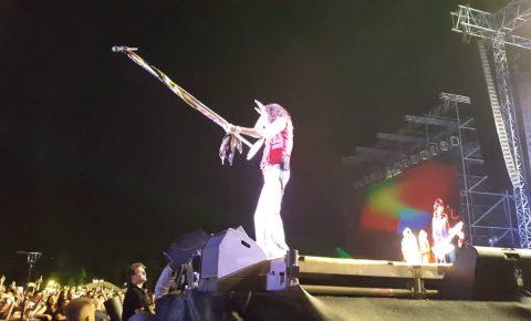 "Fan-Filmed Aerosmith ""Aero-Vederci Baby!"" Farewell Tour Kick Off Video"