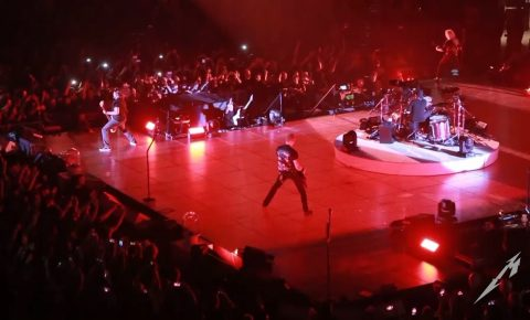 Metallica Release Pro Video of  Live 'Hardwired' from NY Show