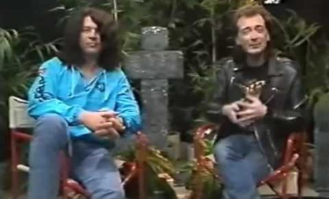 Vintage Footage Released of Ian Gillan interview with Mick Wall in February, 1988