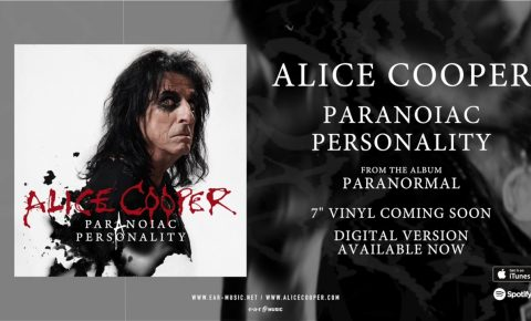 """Alice Cooper """"Paranoiac Personality"""" Official Song Stream from the Album """"Paranormal"""""""