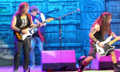 Iron Maiden Kick Off 2017 North American Tour in Virginia