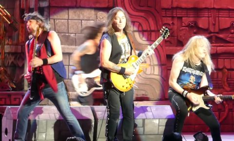 Iron Maiden – The Trooper from First Night of 2017 The Book of Souls American Tour