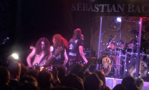 Sebastian Bach Posts Video From Planet Live Music Factory Gig in Michigan