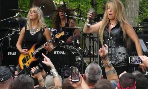 "Vixen & Faster Pussycat Rock ""Edge of a Broken Heart""  at the M3 Festival, April, 2017"