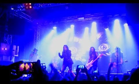 Alice Cooper's Surprise Performance At Gothenburg Club