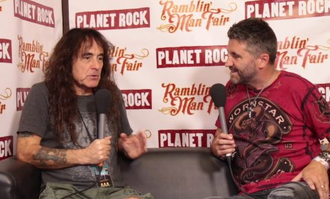 Iron Maiden's Steve Harris Talks About His Plans with British Lion in New Interview