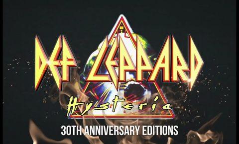 Joe Elliott talks about Def Leppard's 30th Anniversary of Hysteria