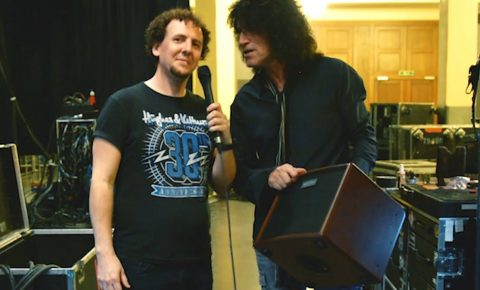 KISS Guitarist Tommy Thayer Interview 2017