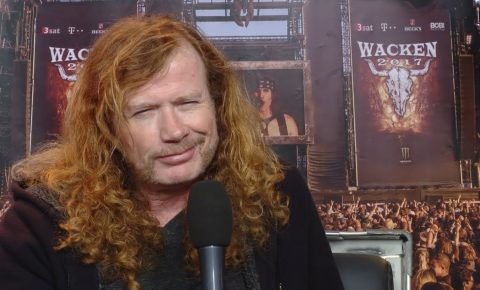 Megadeth Release Interview with Dave Mustaine at Wacken Open Air 2017 Gig