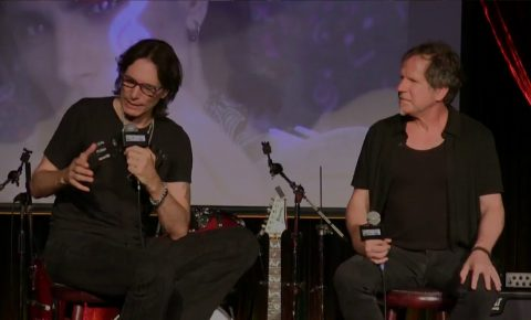 """Steve Vai Interview """"Live from The Cutting Room"""""""