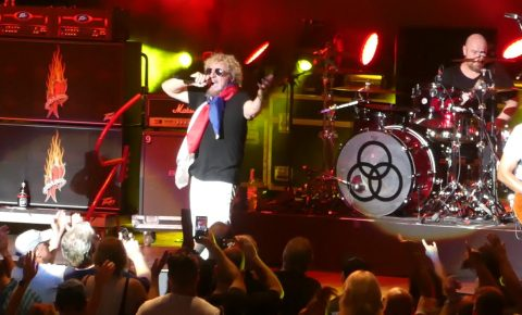 The Circle featuring Sammy Hagar and Michael Anthony Cover Rock Classics Live in Philly
