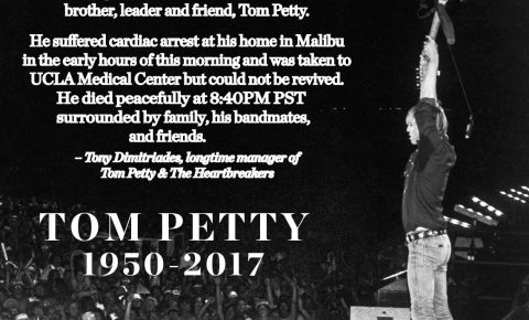 RIP Rock Legend Tom Petty, Dead at 66