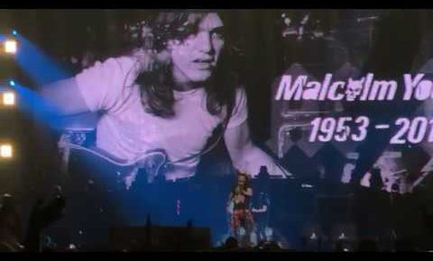 Guns N' Roses Pay Tribute to Malcolm Young