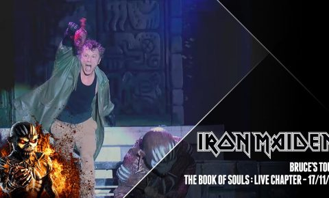 Iron Maiden Release Mini Video Series About The Book of Souls Tour