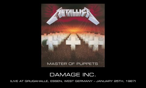 Metallica Perform 'Damage, Inc.' Live In Essen In January 1987