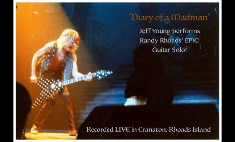 "Randy Rhoads' Guitar Solo – ""Diary of a Madman"" performed by Jeff Young (ex-Megadeth)"