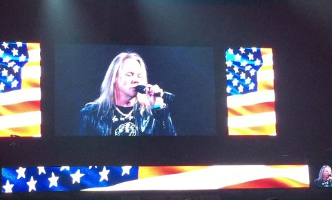 Warrant Vocalist Robert Mason Sang the National Anthem for the PBR
